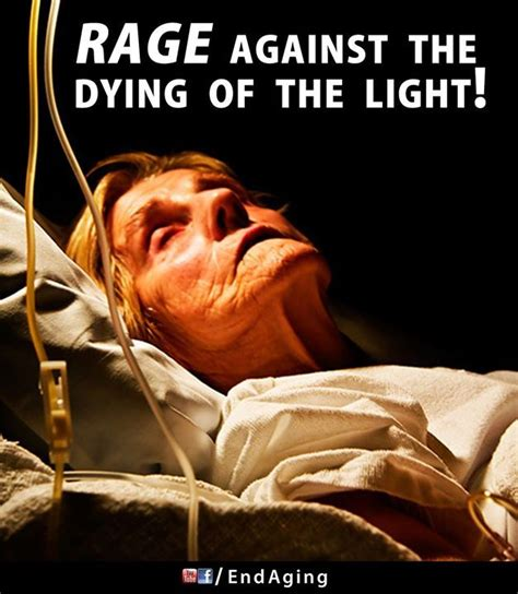 Rage Rage Against The Dying Of The Light Meaning by Photo End Aging Poster Rage Against The Dying Of The Light We Can Fight The