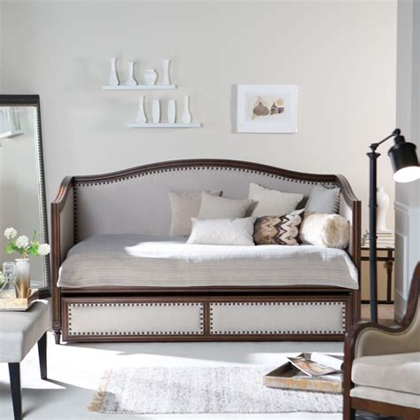 upholstered daybeds that look like sofas halstead upholstered daybed www