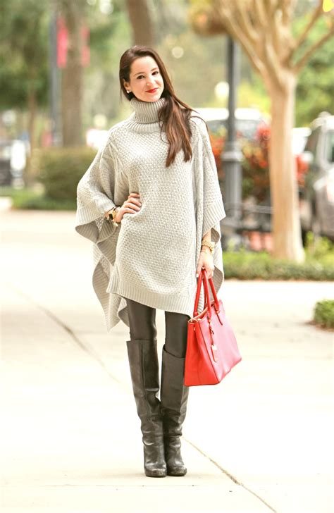Sweater Drop Dead Happy bundled in blankets oversized gray poncho sweater diary