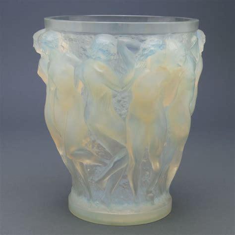 Opalescent Vase by R Lalique Opalescent Bacchantes Vase Auction Highlights