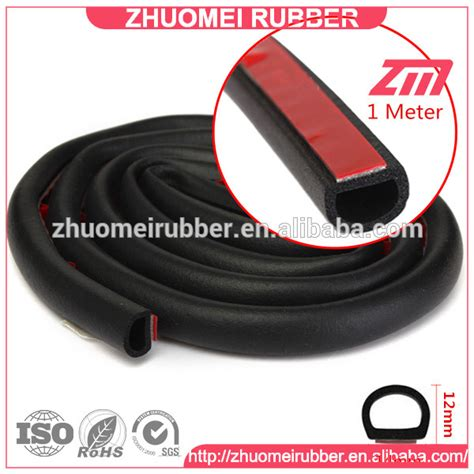 boat hatch seal different d shapes foam rubber marine hatch seal buy