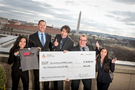 Unlv Mba Reviews by Unlv Students Capture National Accounting Prize Las