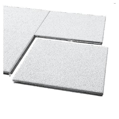 Shop Armstrong 12 Quot X 12 Quot Cirrus Concealed Beveled Ceiling 12x12 Ceiling Tiles Lowes