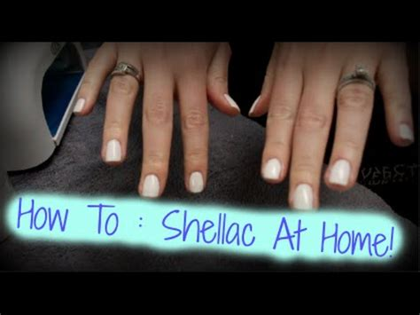 how to do shellac at home at home spa