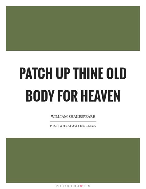 Patch Up Quotes In
