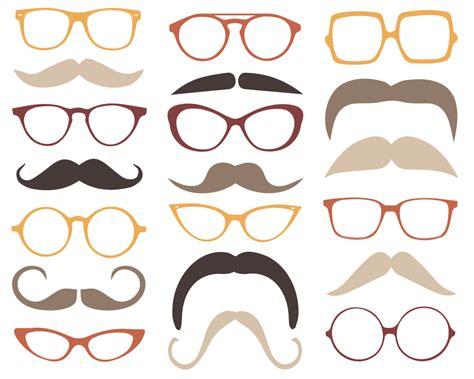 clipart occhiali mustache cliparts