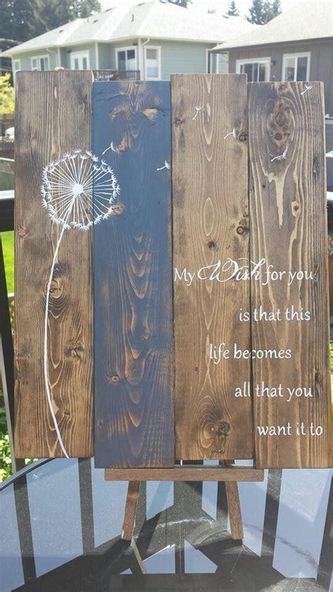 chalk paint pallet dandelions and wishes do come true pallet wood chalk
