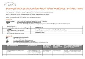 business process inventory template process documentation why it s vital and how to do it