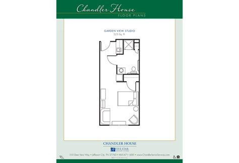 chandler house jefferson city tn floor plans pricing 1 2 bedroom options chandler house