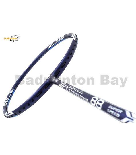 Apacs Blend 6000 Blue 4u Badminton Racket Racquet Free Stringing Pu apacs blend duo 88 navy blue badminton racket 6u