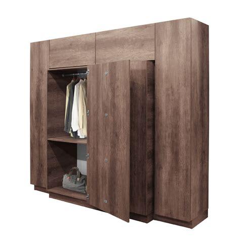 Office Wardrobe Closet by Hawthorne Wardrobe Closet Desk Instant Home Office