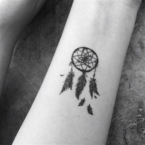 dream tattoo on wrist small catcher tats