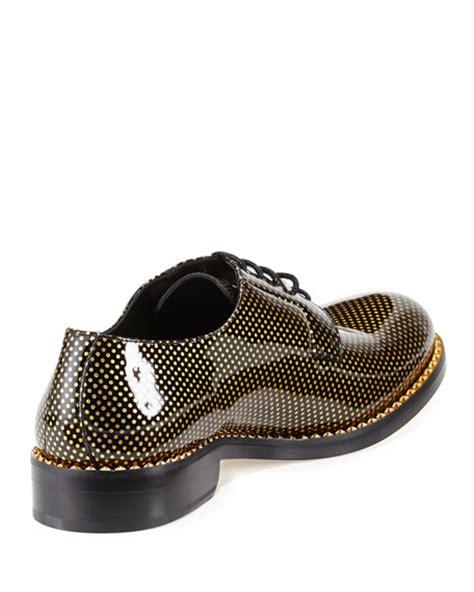 polka dot oxford shoes jimmy choo alaric s polka dot patent oxford shoe