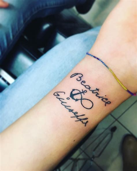 infinity tattoo with names on wrist 21 infinity tattoo designs ideas design trends