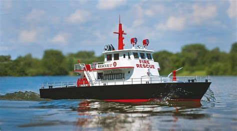 rc remote control boats aquacraft rescue remote control fire boat