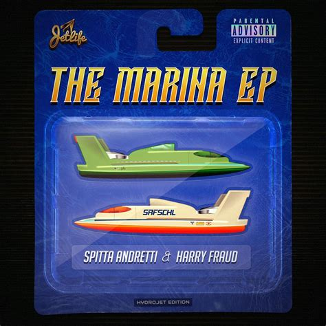 cigarette boats curren y curren y harry fraud the marina stream cover art