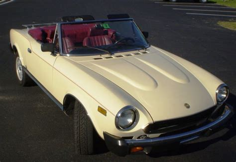 fiat spider 1981 1981 fiat spider 2000 classic italian cars for sale