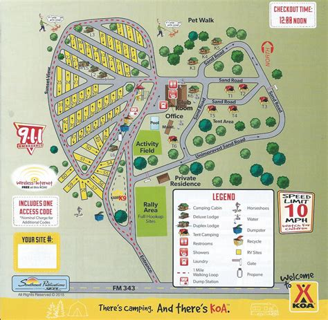 texas cgrounds map rusk texas cground rusk koa