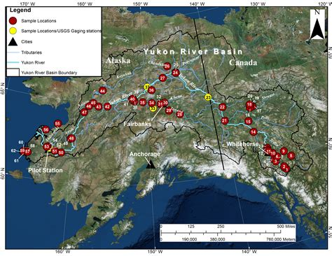 Water Quality in the Yukon River Basin