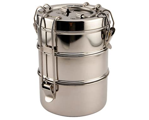 Fountains For Home Decor Stainless Steel Tiffin Box Food Carrier The Green Head