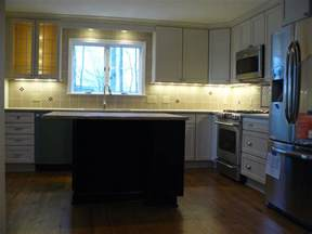Above Kitchen Cabinet Lighting Recessed Light Over Kitchen Sink And Using Small Sliding