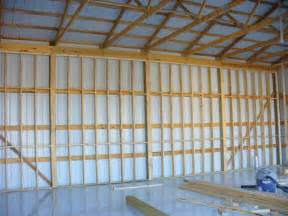 Question about framing walls of pole barn garage the garage journal