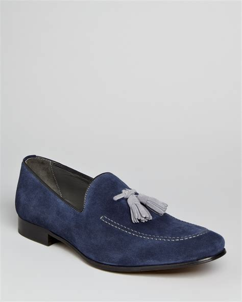 to boot new york holden suede tassel loafers bloomingdale s