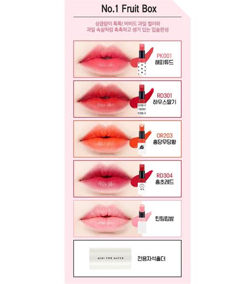 Etude House Dear My Blooming Talk Miracle 2 Holliday 1 box korea etude house mini two match tin set 2 4g
