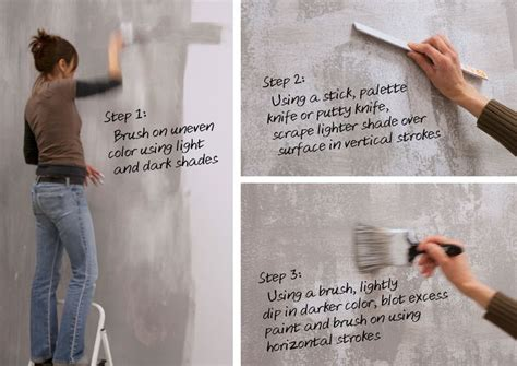faux finishing techniques 17 best ideas about concrete walls on concrete