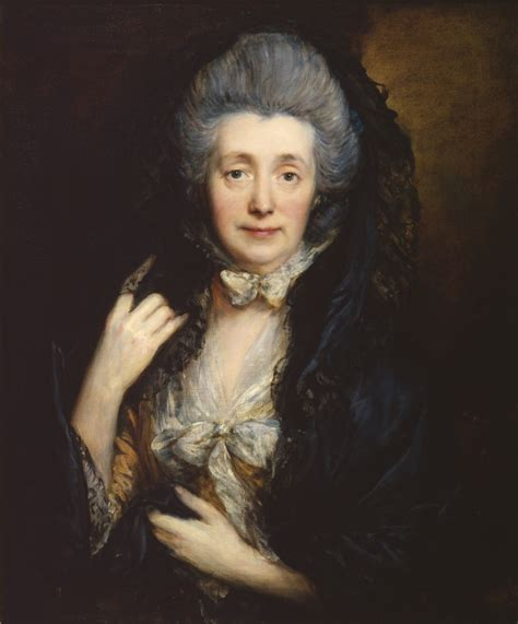 gainsborough a portrait ma curating thomas gainsborough portrait of mrs gainsborough 1778 79 the courtauld