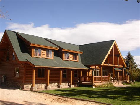 Single Story House by California Log Homes Log Home Floorplans Ca Log Home