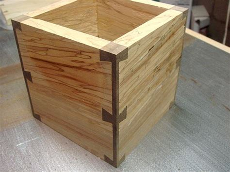 dovetail woodwork corner post dovetail pen box build thread lots of pics
