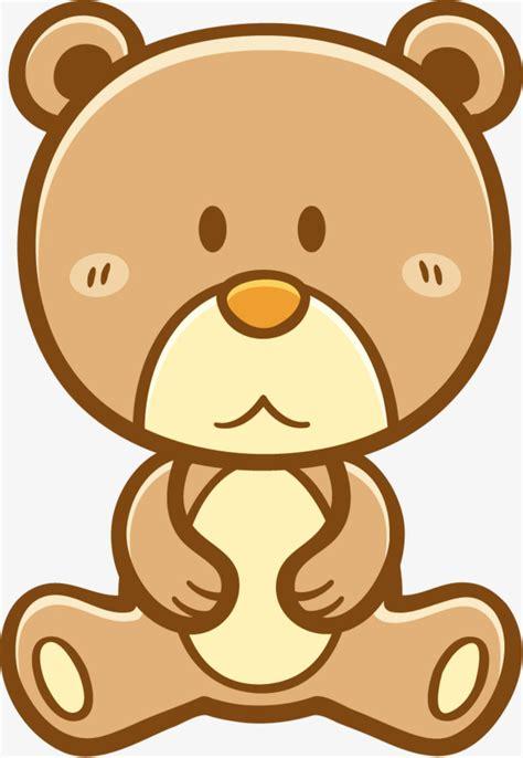 imagenes animados de osos pintado a mano lindo oso de dibujos animados animales de