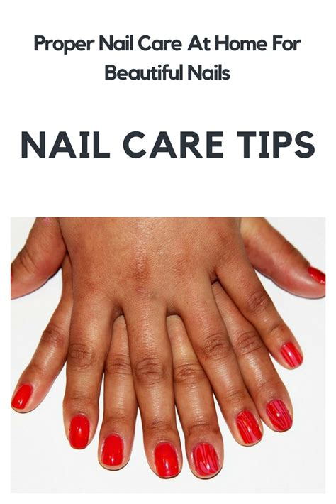 Tips For Beautiful Nails by Nail Care Tips Proper Nail Care At Home For Beautiful
