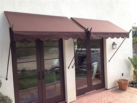 spear awning spear awnings with scaloped valance and extra long spears
