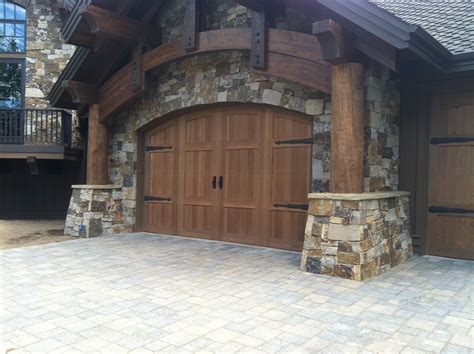 3 door garage custom made garage doors by central oregon garage door in