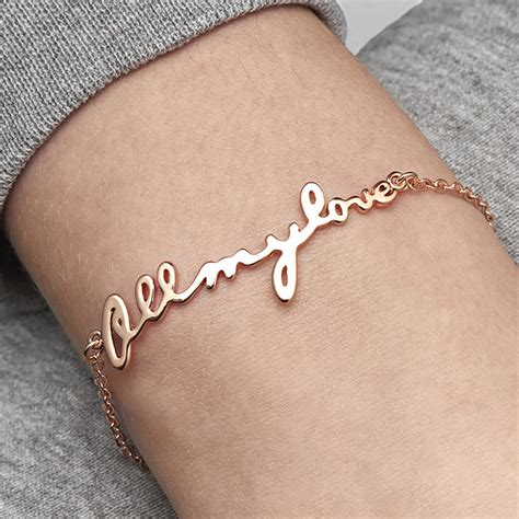 bracelets for your personalised all my bracelet by bloom boutique