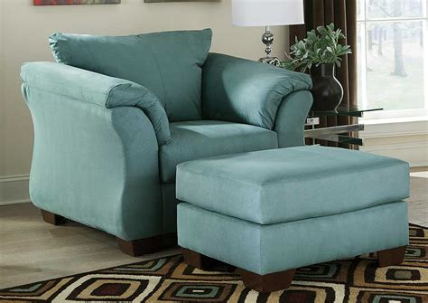 furniture liquidators home center darcy sky chair ottoman