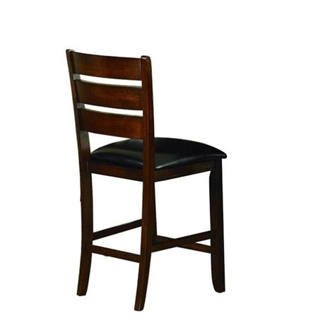 24 Dining Chairs Trent Home Ameillia Counter Height Dining Chair In Oak Set Of 2 586 24