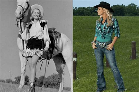 Ranch Style Home by The Evolution Of Cowgirl Fashion