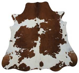 Cow Rugs Brown White Cowhide Rug