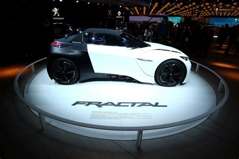 peugeot fractal peugeot fractal concept too cool not to bring to paris