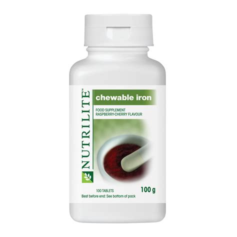Suplemen Amway Nutrilite Chewable Iron Amway