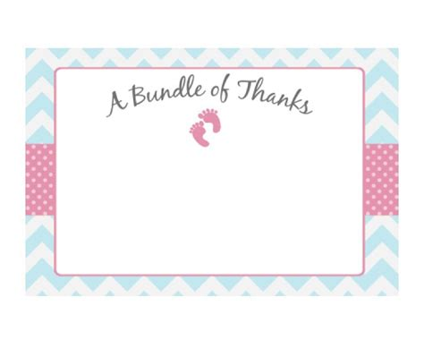 thank you card template 5 5 x 8 5 30 free printable thank you card templates wedding