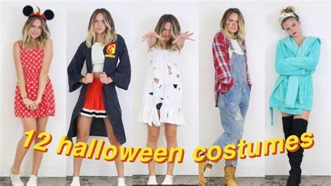 diy  minute halloween costumes summer mckeen