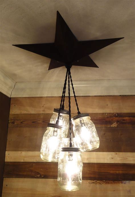 Country Light Fixtures 25 Best Ideas About Jar Lighting On Pinterest Jar Chandelier Jar Light