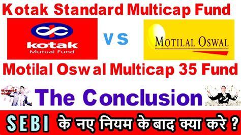Kotak Standard kotak standard multicap fund vs motilal oswal multicap 35