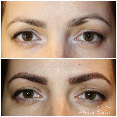 tattoo eyeliner pain permanent makeup by anna kara 87 foton 19 recensioner