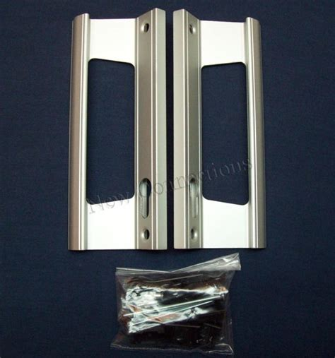 Silver Fullex Patio Door Handles For Upvc Or Aluminium Aluminium Patio Door Handles