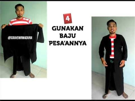 Supplier Baju Dea Top Hq 9 cara memakai baju adat khas madura jawa timur 0856 5535